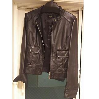 ビッキー(VICKY)の週末限定値下げ💴⤵🎵本革ビッキーレザージャケット黒‼(ライダースジャケット)
