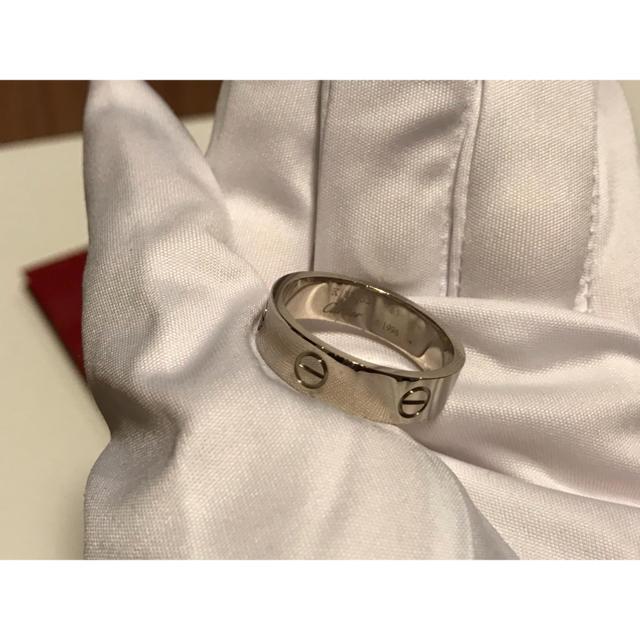 Cartier(カルティエ)のカルティエ ラブリング WG メンズ 指輪 65 / 24号 ホワイトゴールド メンズのアクセサリー(リング(指輪))の商品写真