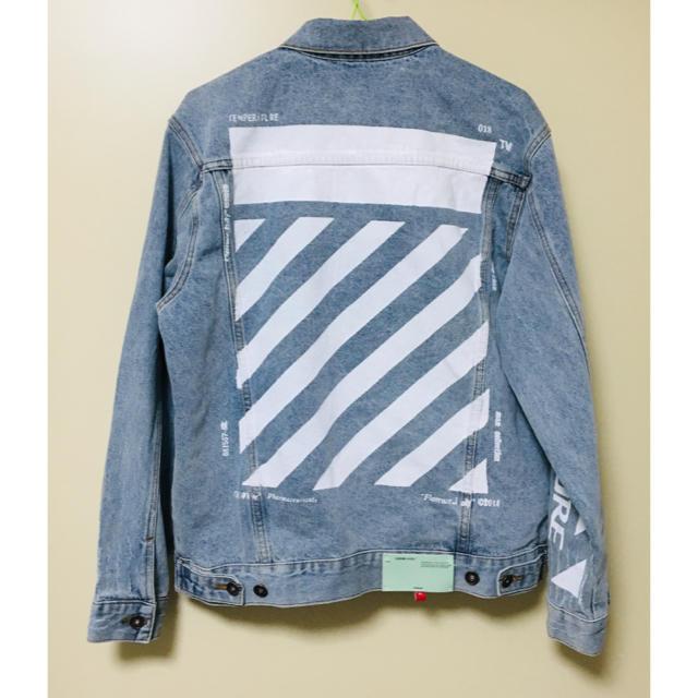 OFF-WHITE(オフホワイト)のOff white デニムジャケット  メンズのジャケット/アウター(Gジャン/デニムジャケット)の商品写真