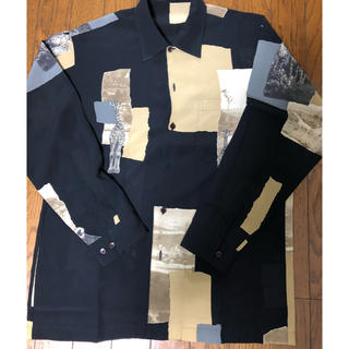 ヨウジヤマモト(Yohji Yamamoto)の古着シャツ 柄シャツ  動物シャツ レトロ 80s 90s ビンテージ(シャツ)