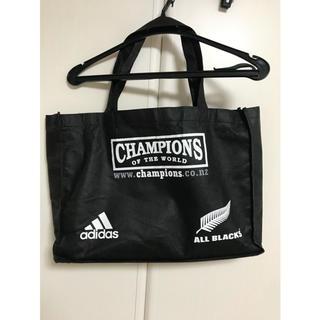 adidas - アディダス オールブラックス エコバック 日本未発売 非売品
