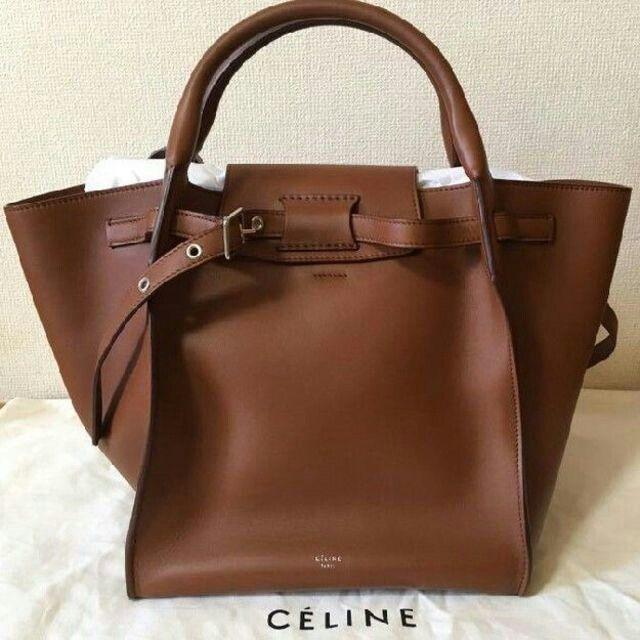 celine(セリーヌ)のCELINE / セリーヌ ビッグバッグ タン スムースカーフスキン レディースのバッグ(トートバッグ)の商品写真