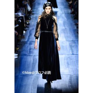 クリスチャンディオール(Christian Dior)のChristianDior ドレス ワンピース(ロングワンピース/マキシワンピース)