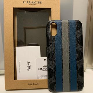 コーチ(COACH)の新品 COACH コーチ iPhoneX iPhoneXS ケース(iPhoneケース)