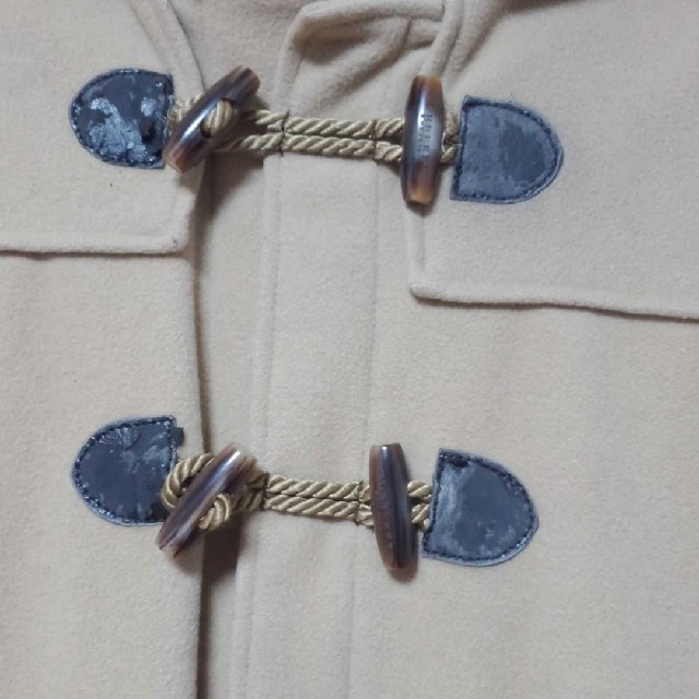 BURBERRY(バーバリー)のバーバリー140 ダッフルコート2way キッズ/ベビー/マタニティのキッズ服 男の子用(90cm~)(コート)の商品写真