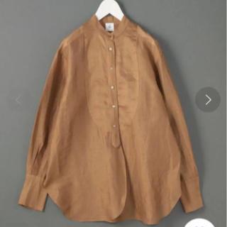 BEAUTY&YOUTH UNITED ARROWS - roku 6 SHEER STRIPE BIG SHIRT/シャツ 38 ドレス