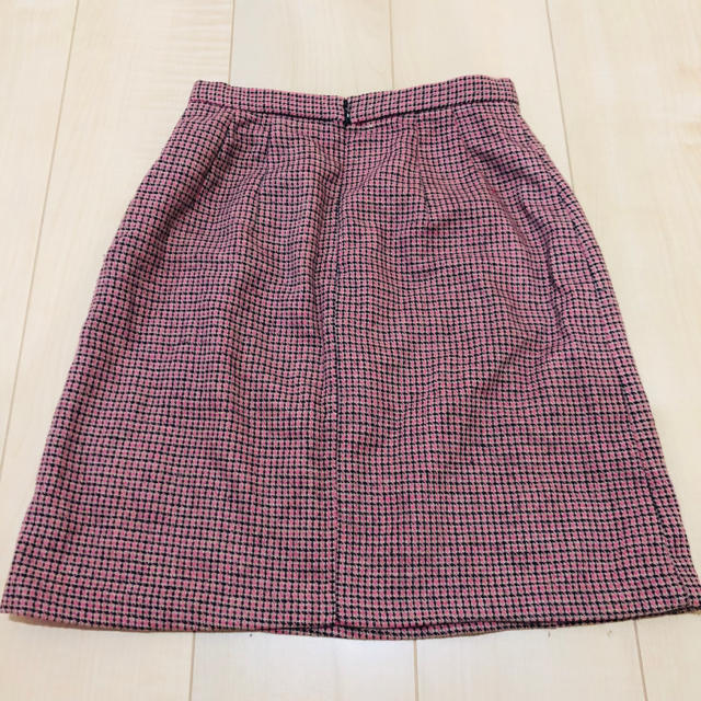 Lily Brown(リリーブラウン)のリリーブラウン 台形ダブルボタンスカート レディースのスカート(ミニスカート)の商品写真