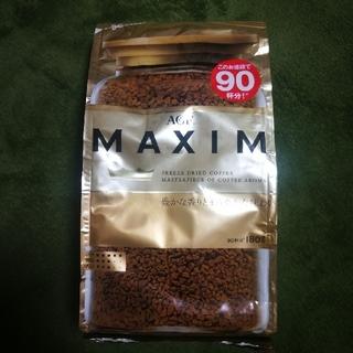 エイージーエフ(AGF)のAGF マキシム インスタントコーヒー 180g(90杯分)×6袋(コーヒー)