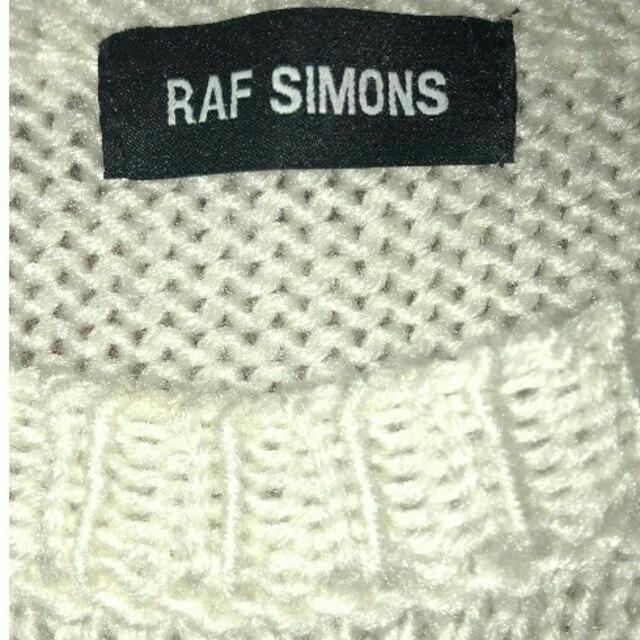 RAF SIMONS(ラフシモンズ)のRafsimons ラフシモンズ ニット ベスト クロップドニット NYニット メンズのトップス(ニット/セーター)の商品写真