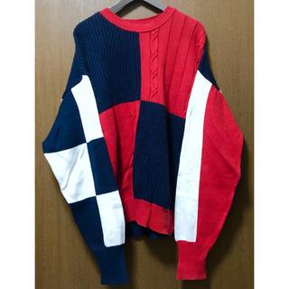 ポロラルフローレン(POLO RALPH LAUREN)のNAUTICA セーター Lサイズ 90年代 ヴィンテージ物 90s ニット(ニット/セーター)