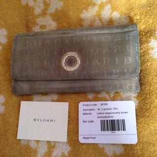 ブルガリ(BVLGARI)のBVLGARI ブルガリ男女兼用 made in ITALY 長財布 正規品(折り財布)
