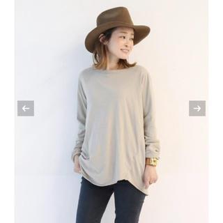 DEUXIEME CLASSE - ドゥーズィエムクラス  Layering Tシャツ ベージュ