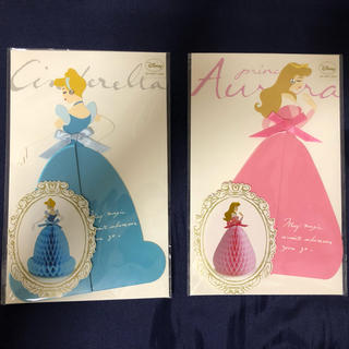 Disney - ディズニー プリンセス ハニカム多目的カード