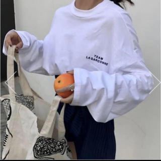 dholic - ルーズロングスリーブTシャツ