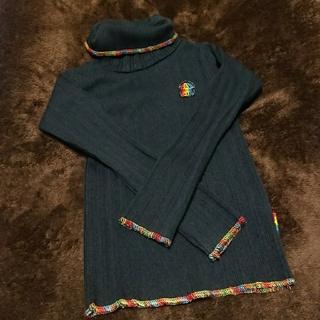 ブーフーウー(BOOFOOWOO)のハイネック  BooFooWoo  100㎝(Tシャツ/カットソー)