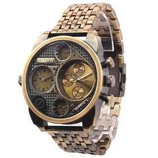 Orobianco - 限定OUULMのメンズ デザイン時計 ゴールド   オロビアンコ ディーゼル