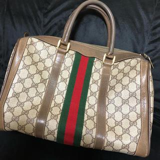 Gucci - オールド グッチ バッグ シェリー