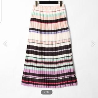 GRACE CONTINENTAL - 定価38880円 グレースコンチネンタル プリーツスカート 36 ピンク 美品