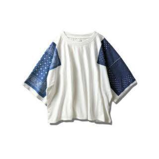 キャピタル(KAPITAL)のkapital  バンダナ Tシャツ(Tシャツ/カットソー(半袖/袖なし))