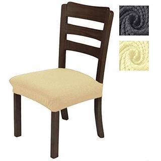座面カバー ダイニングチェアカバー(座面用) 椅子カバー ベージュ カバー(ソファカバー)