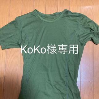 ファイントラック(finetrack)のアンダーシャツ 半袖Mサイズ(その他)