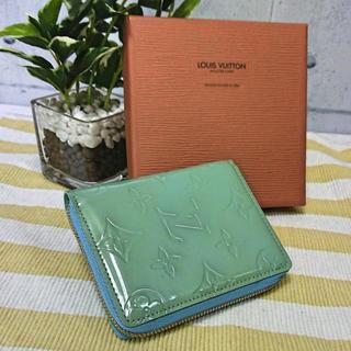 LOUIS VUITTON - ☆ルイヴィトン LOUIS VUITTON☆ヴェルニ/ブルーム/二つ折り財布/緑