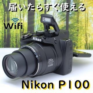 Nikon - 思い出をたくさん撮ろう♪ニコン クールピクス P100☆