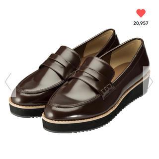 ジーユー(GU)のGUプラットフォームローファー(ローファー/革靴)
