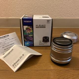 オリンパス(OLYMPUS)のM.ZUIKO DIGITAL 25mm f1.8レンズ(レンズ(単焦点))