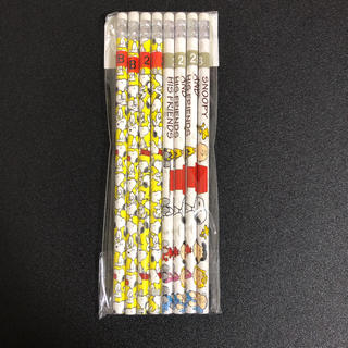 スヌーピー(SNOOPY)のスヌーピー 消しゴム 付き 鉛筆(鉛筆)