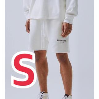 フィアオブゴッド(FEAR OF GOD)のFOG essentials sweat shorts S(ショートパンツ)