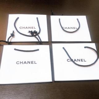 CHANEL - シャネル  紙袋 ショッパー 4枚セット