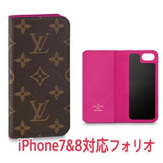 LOUIS VUITTON - ルイヴィトンLOUIS VUITTON iPhone7,8フォリオ