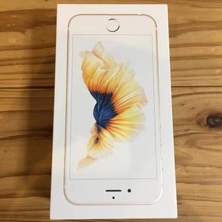 iPhone - 【新品 未使用】 iphone6s SIMフリー  ゴールド 32GB