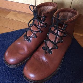 本革ブーツ イタリア製