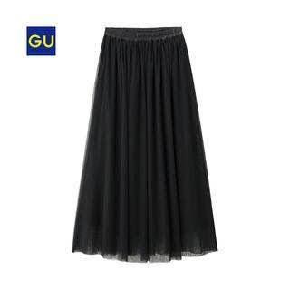 GU - GU ロングスカート ブラック
