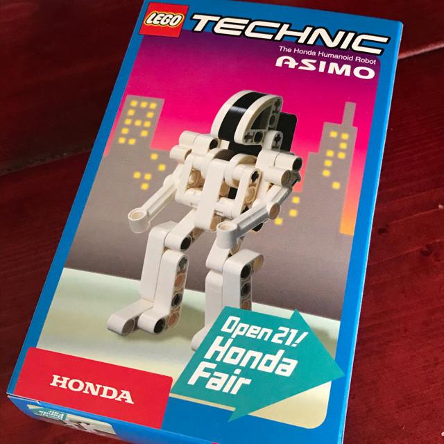 Lego(レゴ)の【非売品】LEGO ASIMO レゴ アシモ キッズ/ベビー/マタニティのおもちゃ(積み木/ブロック)の商品写真