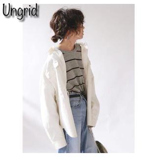 アングリッド(Ungrid)のUngrid ウエストデザインミリタリーシャツ(シャツ/ブラウス(長袖/七分))