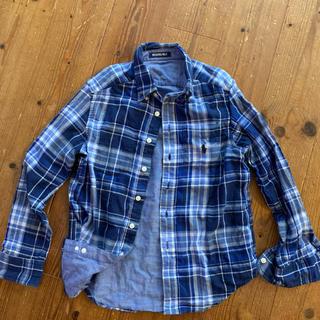 POLO RALPH LAUREN - ポロラルフローレン  チェックシャツ  リバーシブル   130