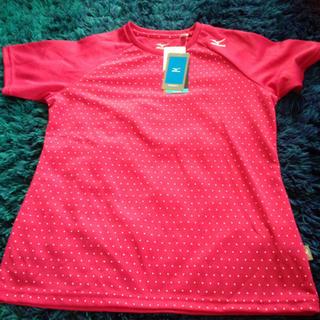 ミズノ(MIZUNO)のミズノ  ピンクTシャツ(ウェア)