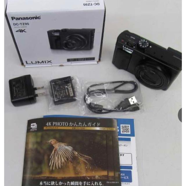 PANASONIC デジタルカメラ DC-TZ95 スマホ/家電/カメラのカメラ(ビデオカメラ)の商品写真