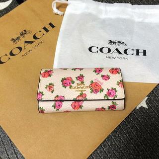 コーチ(COACH)の☆新入荷☆ COACH ローズ柄 キーケース(キーケース)