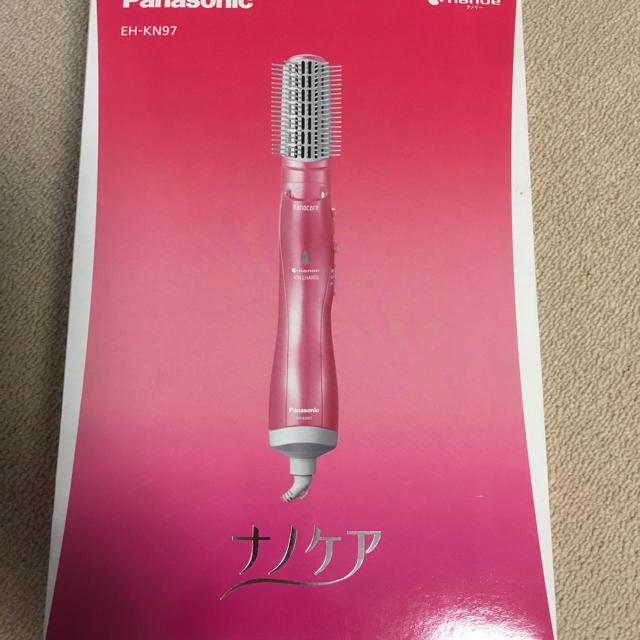 Panasonic(パナソニック)の新品未開封 Panasonic くるくるドライヤー ナノケア EH-KN97-P スマホ/家電/カメラの美容/健康(ドライヤー)の商品写真