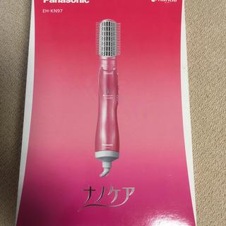 Panasonic - 新品未開封 Panasonic くるくるドライヤー ナノケア EH-KN97-P
