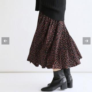 IENA - IENA ドットプリーツスカート