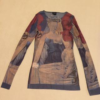 ジャンポールゴルチエ(Jean-Paul GAULTIER)のゴルチェ 絵画 チュール(Tシャツ(長袖/七分))