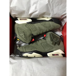 NIKE - 24.5cm Travis Scott x Air Jordan 6 GS