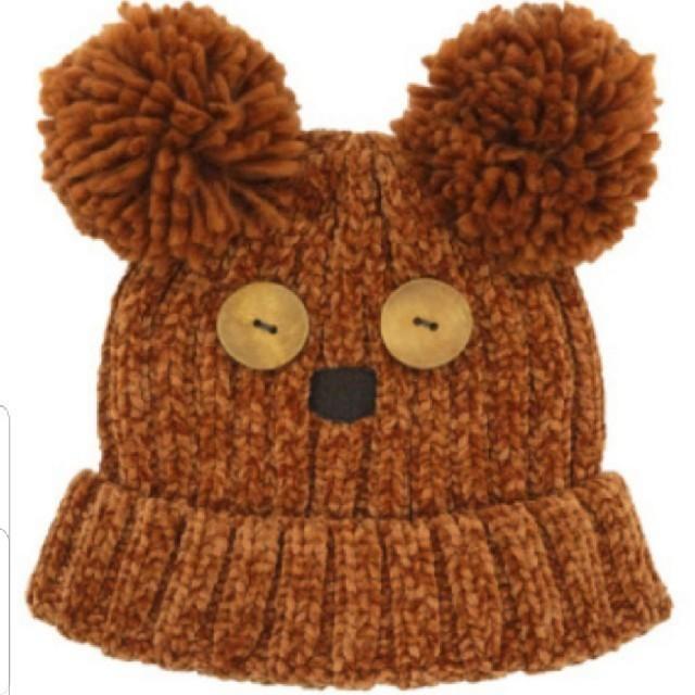 USJ(ユニバーサルスタジオジャパン)のUSJ ミニオンズ ティムのニット帽子 新品 エンタメ/ホビーのおもちゃ/ぬいぐるみ(キャラクターグッズ)の商品写真