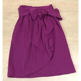 サンローラン(Saint Laurent)のYvesSaintLaurent 巻きスカート(ひざ丈スカート)