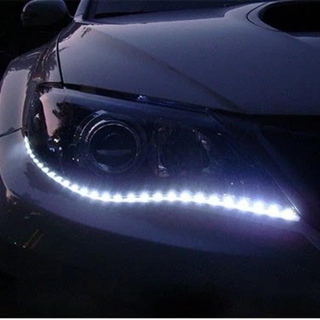 ★4本★ 車用品 12V 防水 ハイパワー LED ストリップライト 自動車/バイクの自動車(車外アクセサリ)の商品写真
